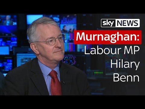 Labour MP Hilary Benn On Boris Johnson's EU Comments
