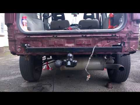 ford fiesta tow bar fitting instructions