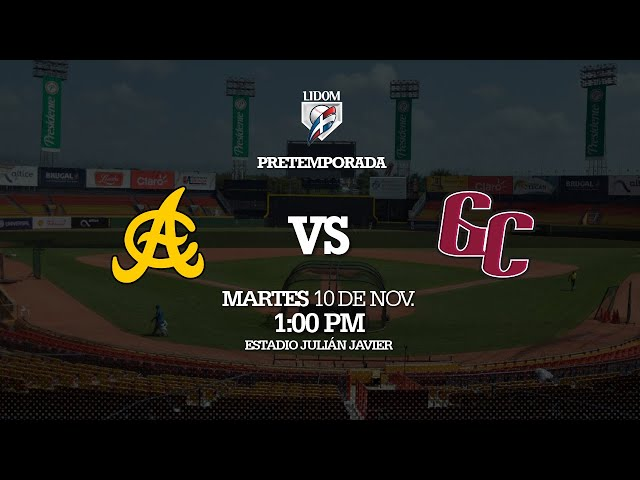 #Pre-Temporada: Águilas Cibaeñas   vs  Gigantes del Cibao 10/11/2020