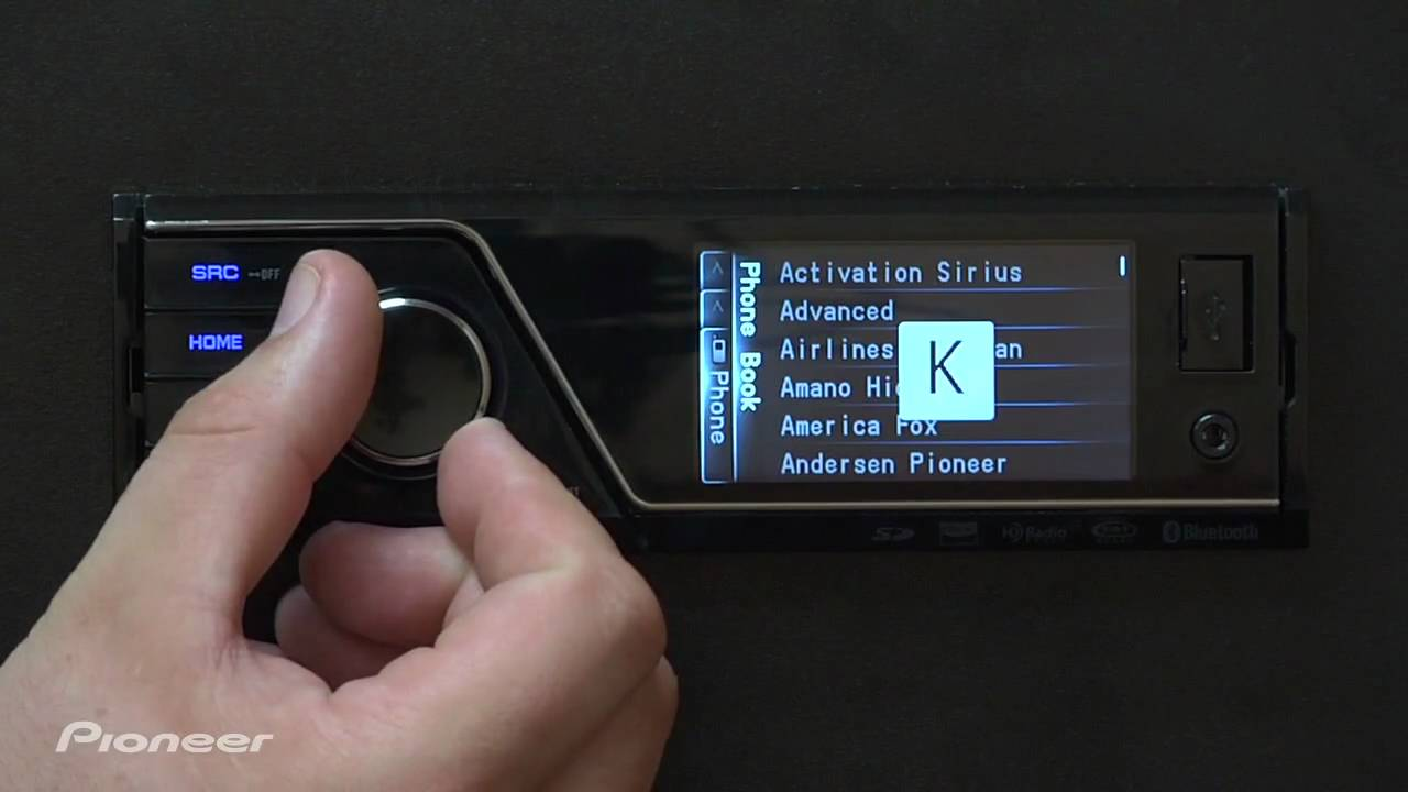 pioneer lab 131 mvh p8200bt bluetooth settings [ 1280 x 720 Pixel ]