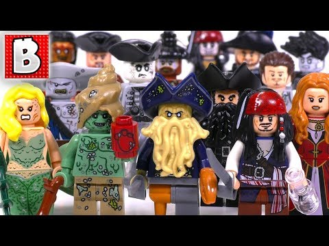 Every LEGO Pirates of the Caribbean Minifigure Ever Made!!! | Collection Review