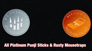 Dead Meat || All Platinum Punji Sticks & Rusty Mousetraps || For the Saw Kill Count's