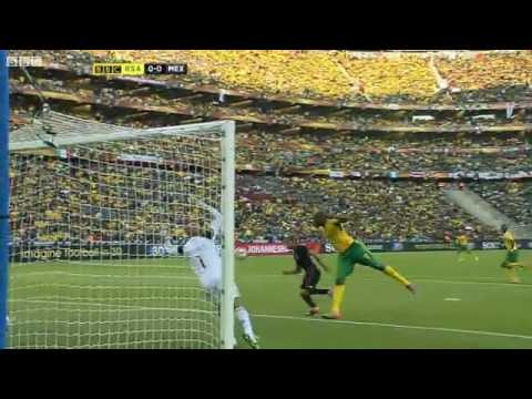 World Cup 2010: Group A: South Africa 11 Mexico  Highlights