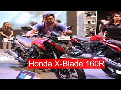 Honda X-Blade 160R Full review in Bangla | Honda X-Blade 160R Now in Bangladesh,Dhaka Bike Show 2018