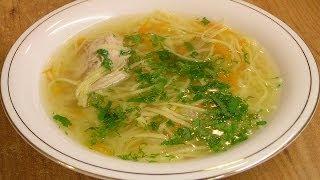 Суп с лапшой / Chicken noodle soup ♡ English subtitles(Приготовление супа с домашней лапшой в посуде Цептер (Zepter) - видео рецепт. По-домашнему вкусно! ▻ Подписка..., 2014-05-03T07:55:09.000Z)