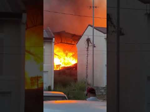 San Mateo Rizal Wood Warehouse fire | April 10, 2021