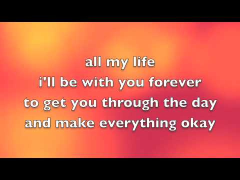 Avril Lavigne Feat. Leona Lewis - I Will Be Lyrics