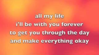 Avril Lavigne Feat Leona Lewis I Will Be Lyrics