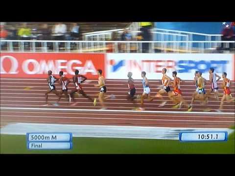 Mo Farah 5000m European Championships 2012
