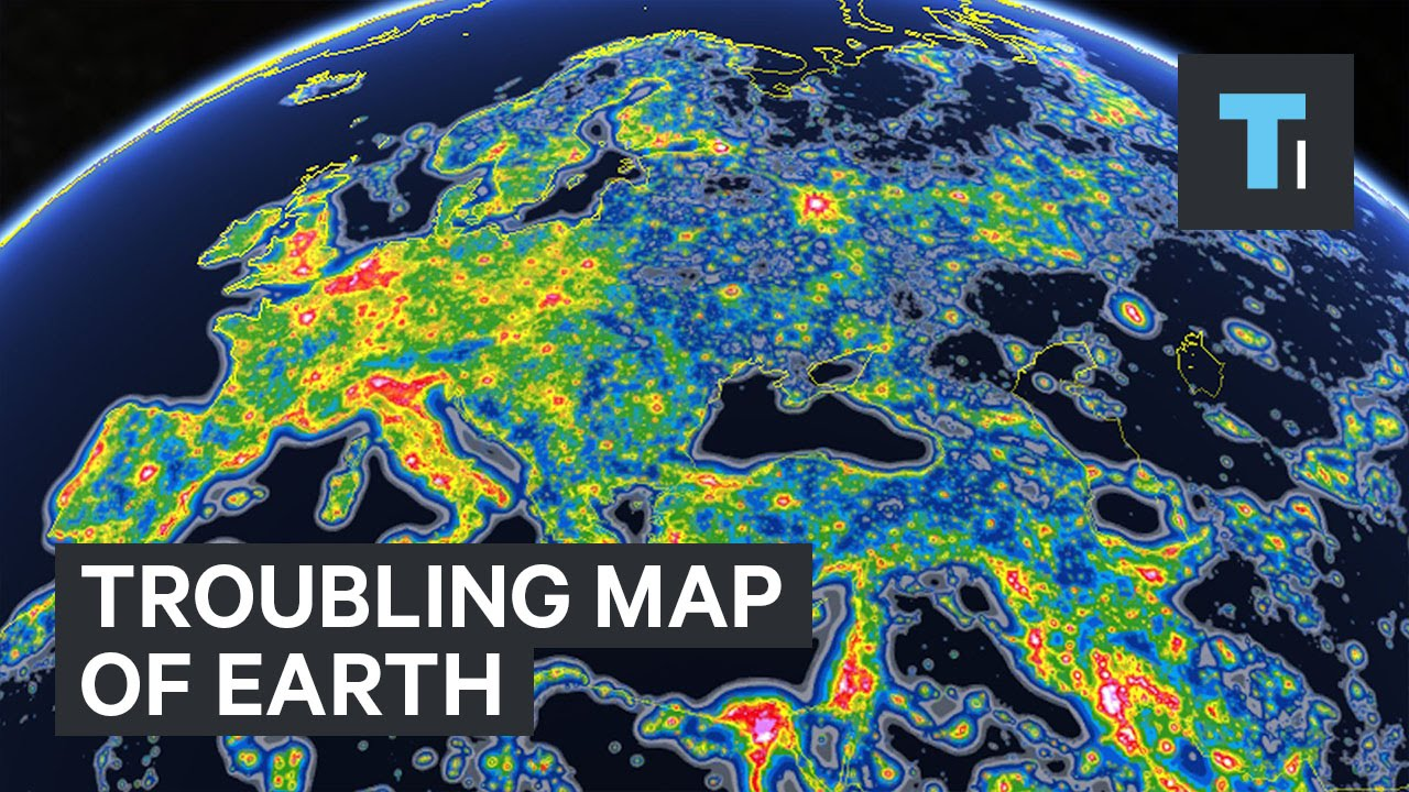 Troubling map of Earth - YouTube