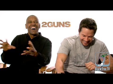 2 Guns Interview w/ Denzel Washington and Mark Wahlberg