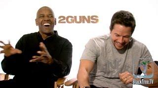 2 Guns Interview w/ Denzel Washington and Mark Wahlberg