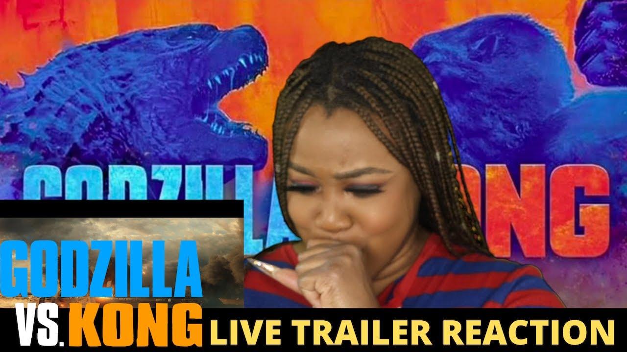 Godzilla vs Kong Trailer Reaction- OMG!!!