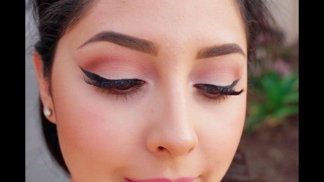 Maquillaje con tonos rosas youtube - Color tierra claro ...