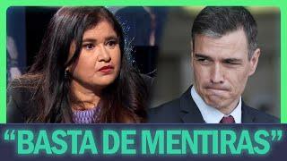 """Lucía Etxebarría ESTALLA contra el PSOE: """"Basta de mentir"""""""