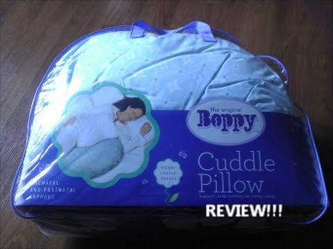 BEST Maternity Pillow EVER YouTube Fascinating Boppy Cuddle Pillow Cover