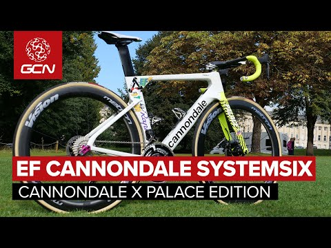 Cannondale X Palace Skateboards Systemsix | EF Pro Cycling's Custom Bike For The Giro d'Italia