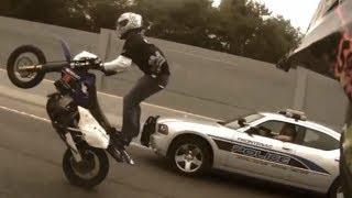 BIKE  feat. COPS - IN MY FEELING ♛ POLICE VS MOTORBIKE 2018 ♛ STREET BIKE RUNNING FROM COPS LIVE