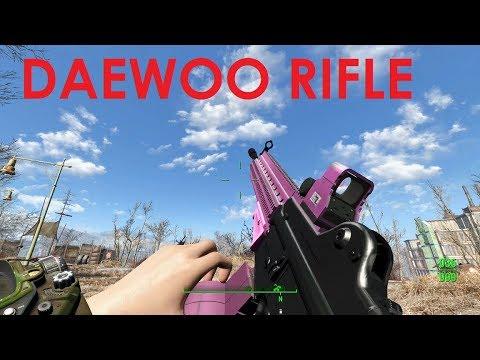 Fallout 4 Mod Review Daewoo Rifle