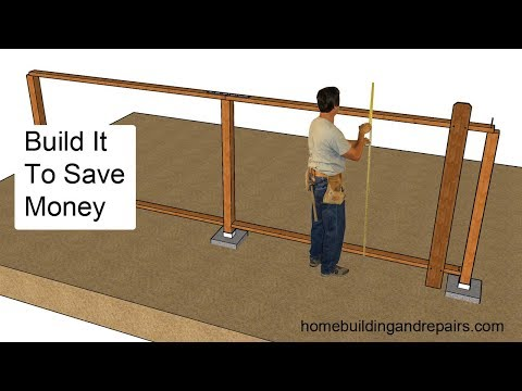 How To Build A Wood Fence To Save Money Repairing It In The Future
