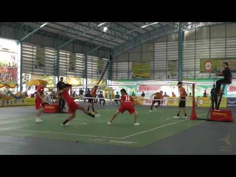 2013 Sepak Takraw Thai League Bangkok vs Chaiyaphum - 2nd Regu Week16