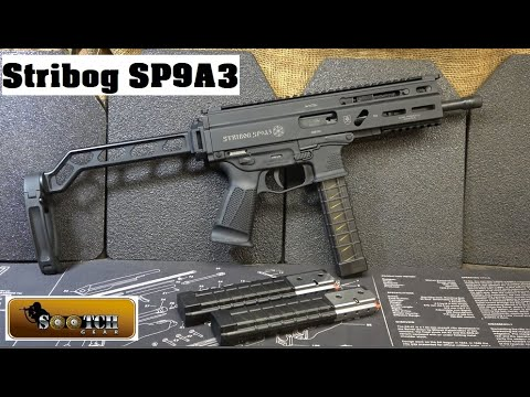 Stribog SP9A3 Delayed Roller Lock 9mm Review