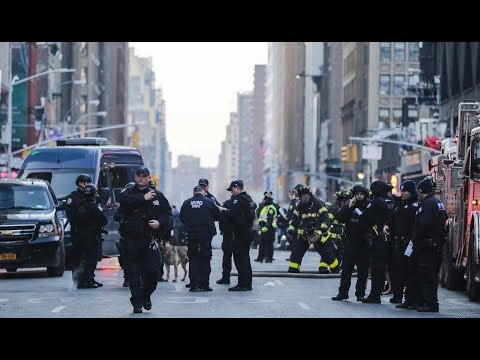 NYC Chaos: Explosion Near Bus Station, 1 in Custody
