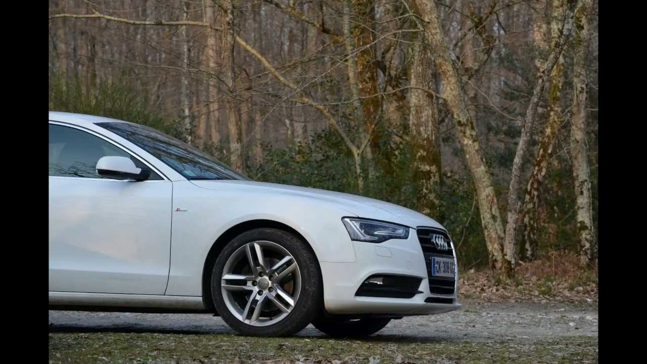audi a5 2013 blanche white sportback s line gopro hero3. Black Bedroom Furniture Sets. Home Design Ideas