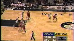 02/16/1997:  NC State Wolfpack at #4 Wake Forest Demon Deacons