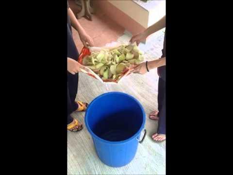 การทำปุ๋ยหมักจากต้นกล้วย