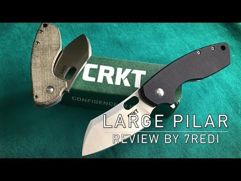 CRKT Large Pilar Review – Big Brother of a Budget EDC Favorit!