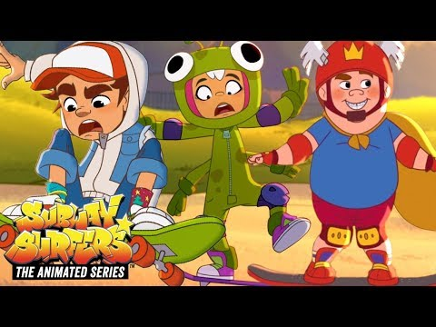 Subway Surfers The Animated Series | Best Skating Moments