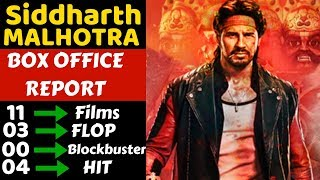Siddharth Malhotra Box Office Collection Analysis With Hit and Flop Movies List