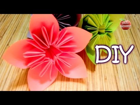 How to make an origami flower for kusudama flower ball cone how to make an origami flower for kusudama flower ball cone paper flower mightylinksfo