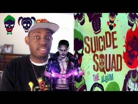 SUICIDE SQUAD THE ALBUM AND TRACKLIST!!!