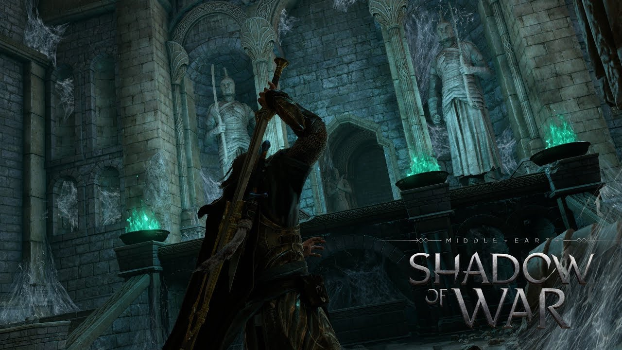 Opening the Ithildin Door in Cirith Ungol (Middle- Earth Shadow of War) NO COMMENTARY & Opening the Ithildin Door in Cirith Ungol (Middle- Earth: Shadow of ...