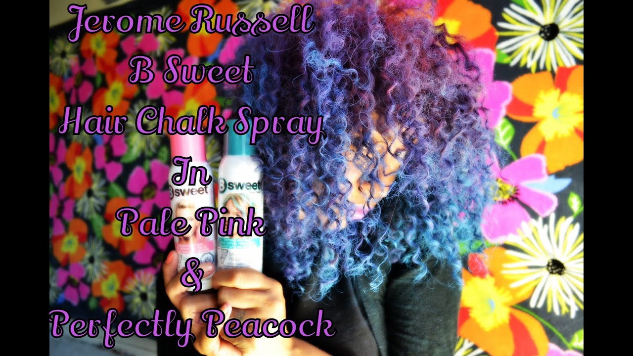 Temp Hair Color| Jerome Russell | B Sweet Pale Pink & Perfectly ...
