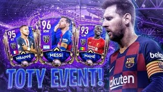 FIFA MOBILE 20 - TOTY! - MESSI DO ZROBIENIA F2P TEAM OF THE YEAR !!!