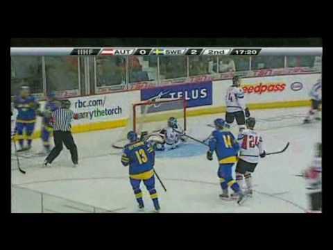 WJHC 2010 Sweden  Austria 73 all goals!