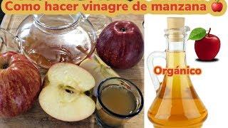 Como hacer Vinagre de Manzana Organico