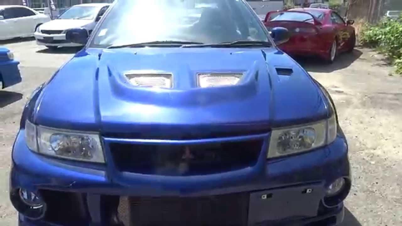Cars For Sale Vancouver >> 1999 Mitsubishi Lancer Evolution VI EVO 6 for sale in Vancouver, BC, Canada - YouTube