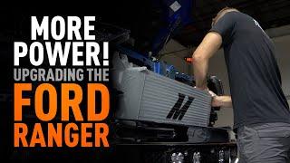 homepage tile video photo for More Power! - 2019+ Ford Ranger Intercooler Kit