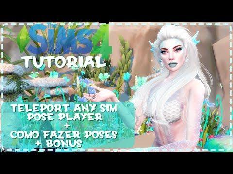 Tutorial: Pose Player + Teleport Any Sim ( Atualizados) | The Sims 4