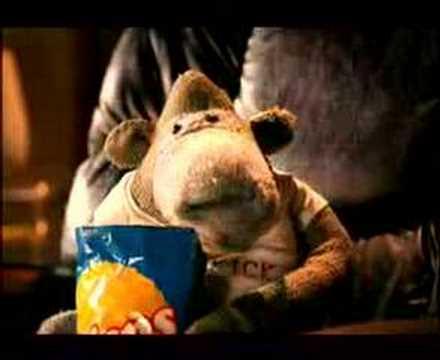 ITV Digital Monkey Advert 1