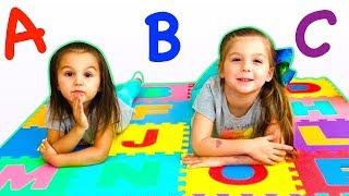 ABC Song - Learn ABC Phonics with Elya and Adelya
