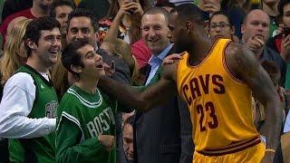レブロンは心も大きい! 身体障害のボストンファンに靴をあげたレブロン(字幕付き) thumbnail