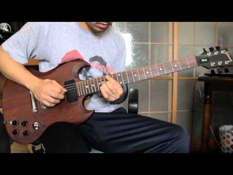 Pink Floyd - Time Guitar Solo (Gibson SJG Chocolate/Fender Mustang I)