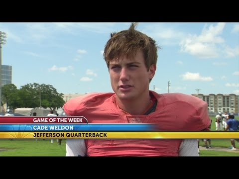 Game of the Week: Jefferson, Junior Cade Weldon ready for season