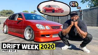 homepage tile video photo for The Unprofessionals go on the Best Drifting Roadtrip Ever. Will Hert's Car Survive? Drift Week 2 Ep1