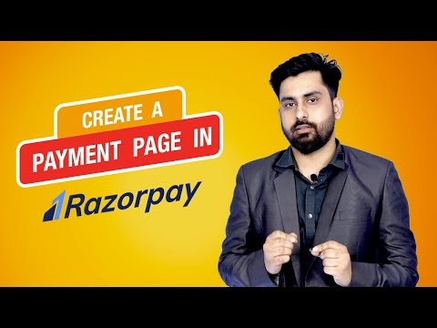 Create Payment Pages | Razorpay| Online Payment|2020 - Part 3